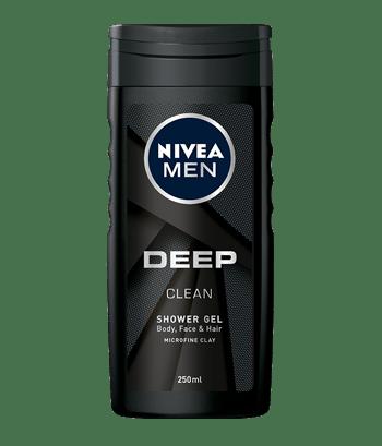 Deep clean żel pod prysznic do ciała, twarzy i włosów 250ml