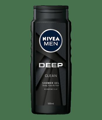Deep clean żel pod prysznic do ciała, twarzy i włosów 500ml